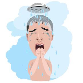 Холодный душ Adsense