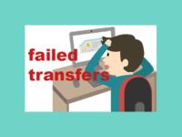 Как в программе FileZilla повторить неудавшиеся передачи